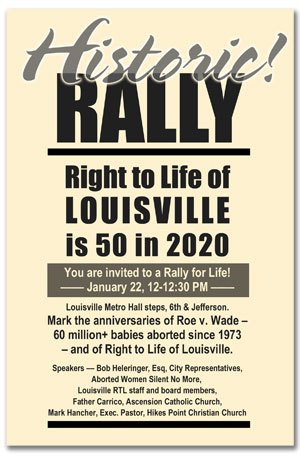 2020 Louisville Rally for Life