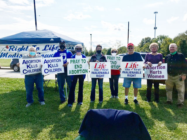Madison Co. Right to Life Prayer Event