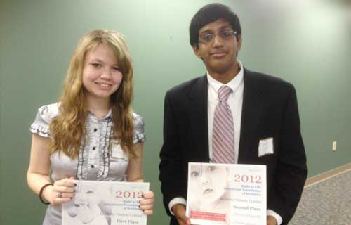 Oratory Contest Winners 2012