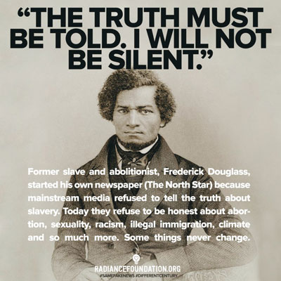 frederick douglass trusth must be told